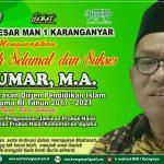 Selamat dan Sukses Bp. Dr.H.A.UMAR, MA